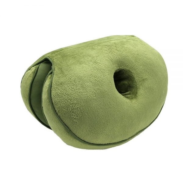 Double-Sided Comfort Seat Cushion Green