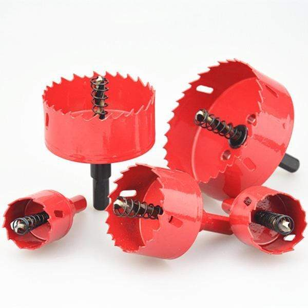 Toothed Bi-Metal Hole Saw Drill Bit