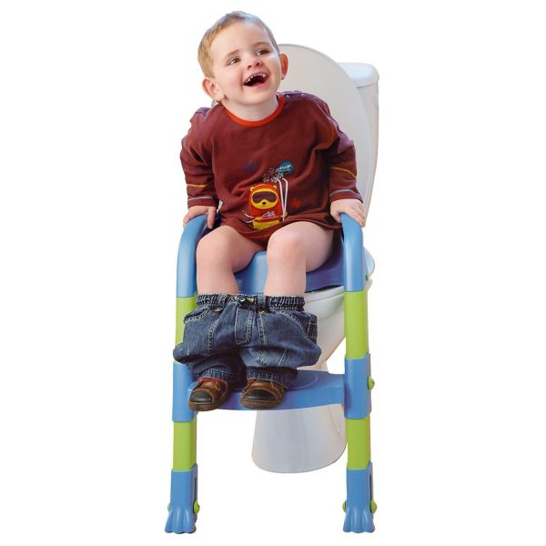 Toilet Training Seat with Adjustable Ladder