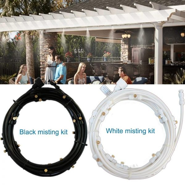OUTDOOR MISTING COOLING SYSTEM KIT