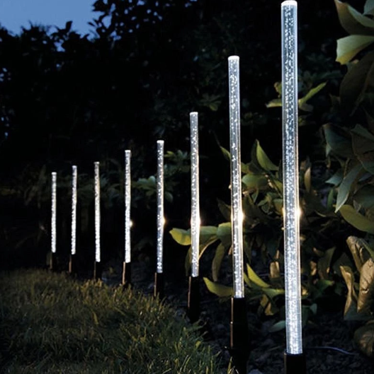 Solar Bubble Tube String Lamps