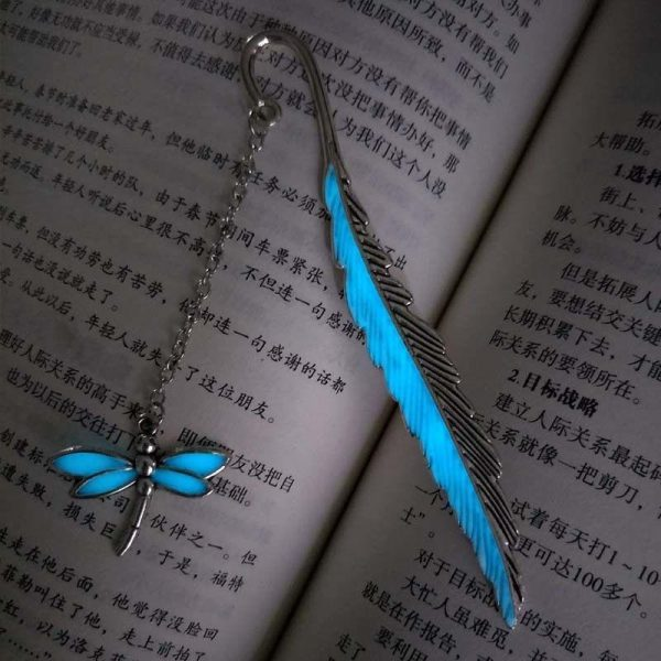 Handmade Glowing Bookmark Lullaby Silver