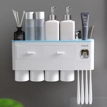 Nordic Inspired Multi-Functional Toothbrush Holder