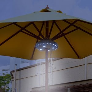 Patio Umbrella Pole Light