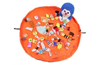 Kids Play Mat and Toy Storage Bag