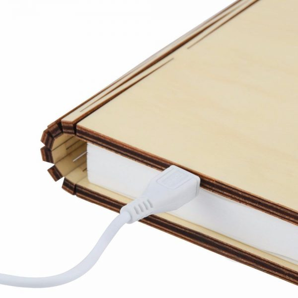 The Foldable Book Lamp