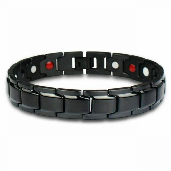 Germanium Therapeutic Power Bracelet black