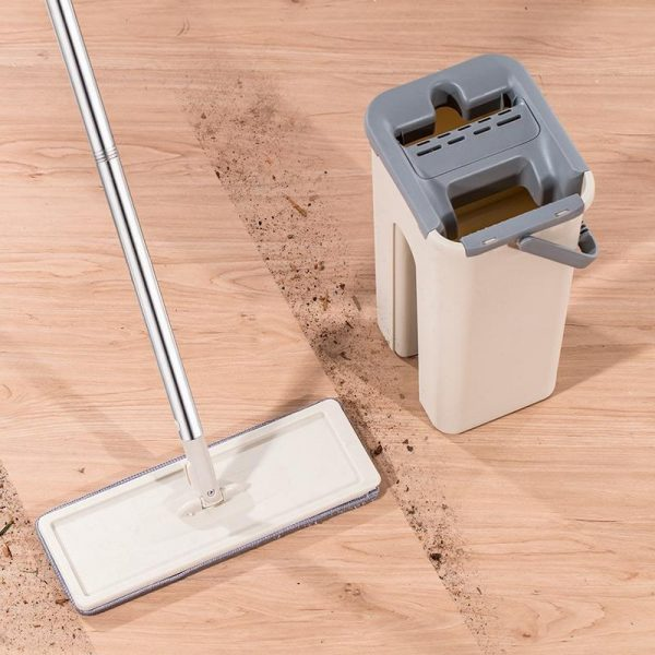 Self-Cleaning Magic Mop and Bucket