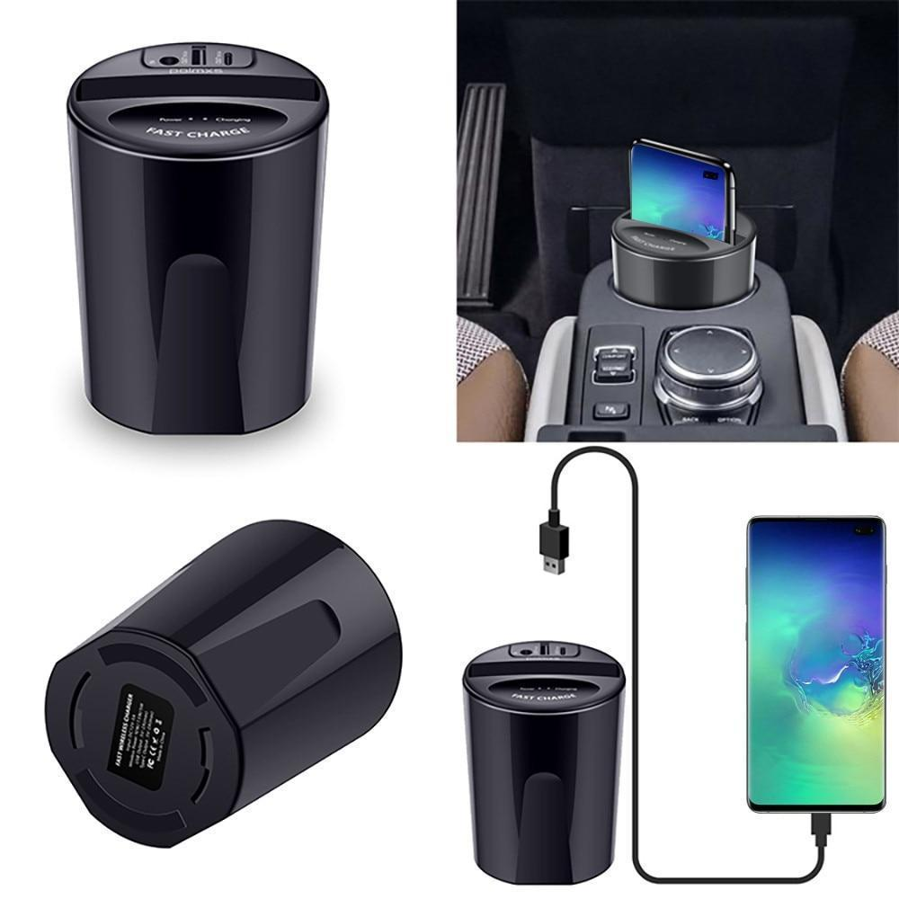 Cup Charge Car Wireless Charger