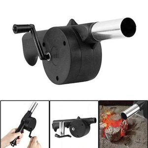Camping BBQ Handheld Manual Fireplace Air Blower