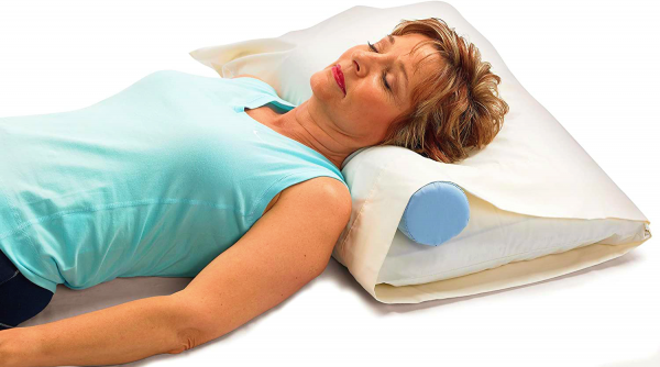 Cervical Roll Spinal Support Neck Pillow