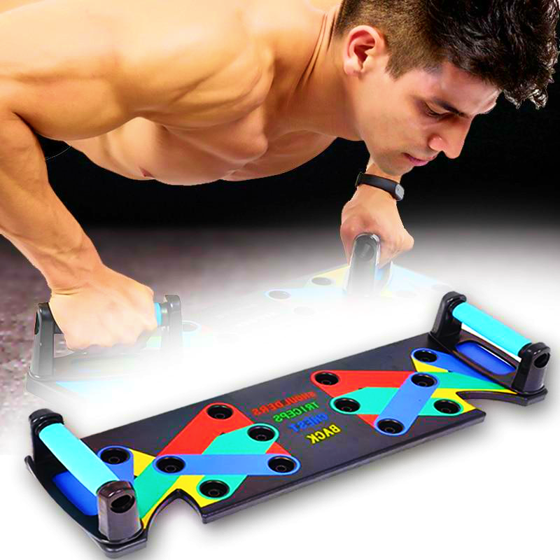 9-in-1 Push Up Rack Board