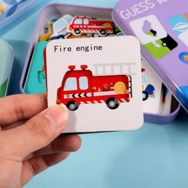 Educational Puzzle Game Match-it-Right