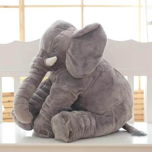 Comfy Baby Elephant Pillow