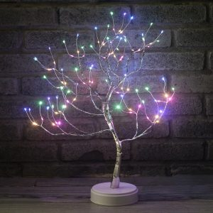 Artificial Bonsai Tree Night Light LED Tabletop Indoor Decoration