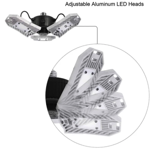 60W Adjustable Deformable LED Lamp