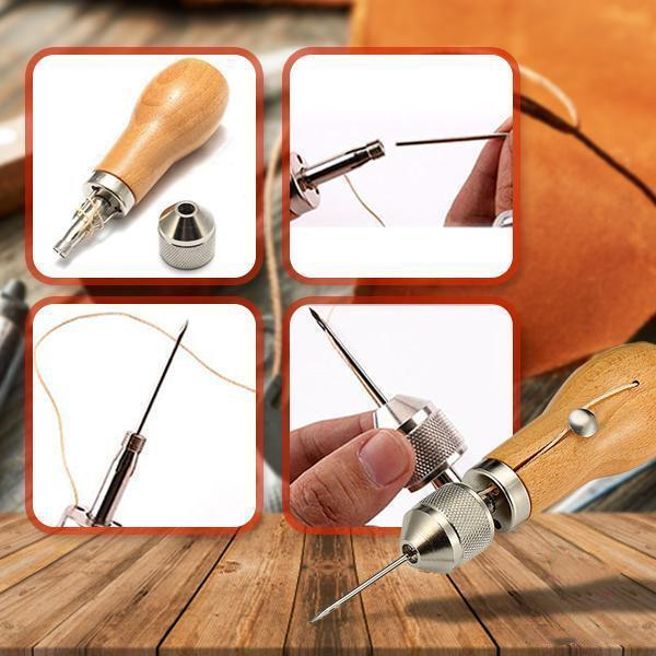 Effortless Leathercraft Sewing Groover Toolkit