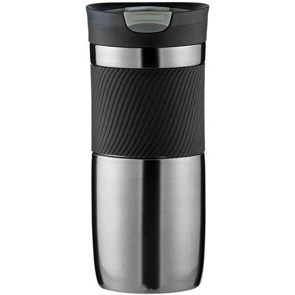 16 oz Snap Seal Stainless Steel Insulated Travel Mug