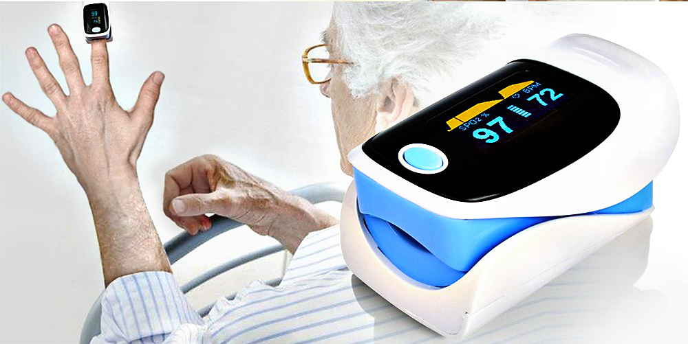Digital Finger Pulse Oximeter with OLED display