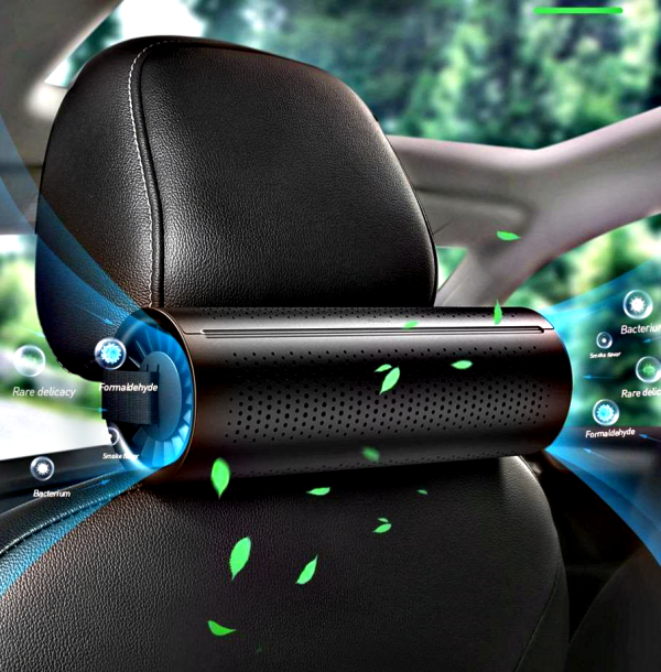 Car Air Purifier & Air Freshener