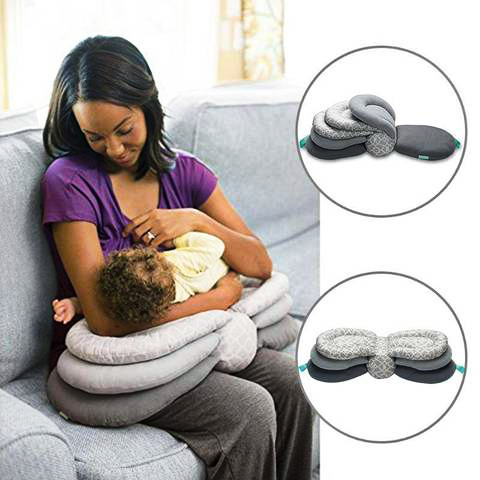 Adjustable Breastfeeding Baby Layered Pillow