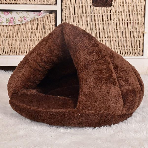 Cozy Pet Cave Bed Coffee