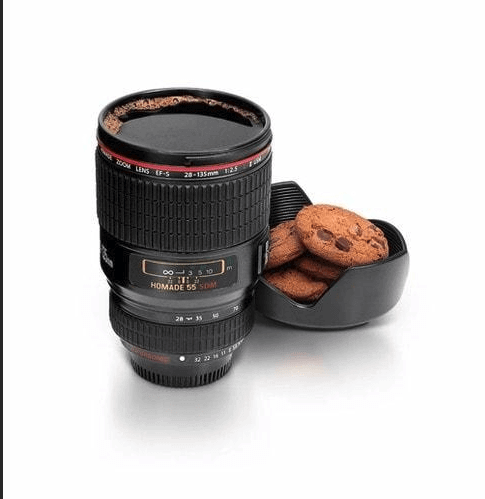 400ML CAMERA LENS COFFEE THERMOS 3