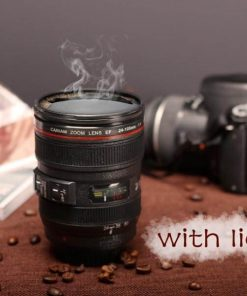 400ML CAMERA LENS COFFEE THERMOS 7
