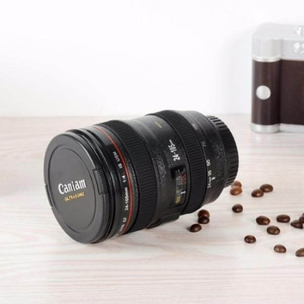 400ML CAMERA LENS COFFEE THERMOS 4