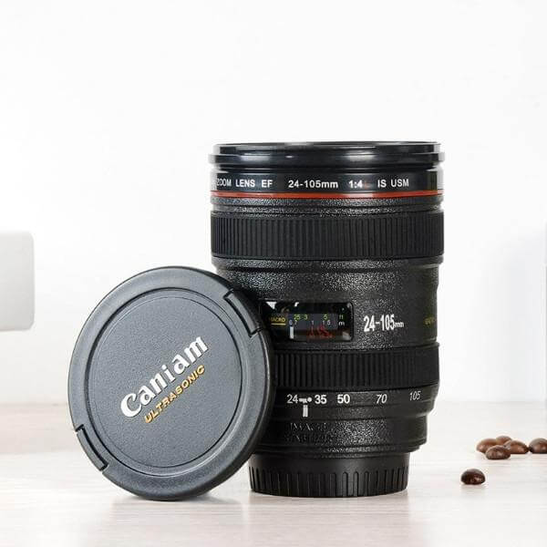 400ML CAMERA LENS COFFEE THERMOS 5